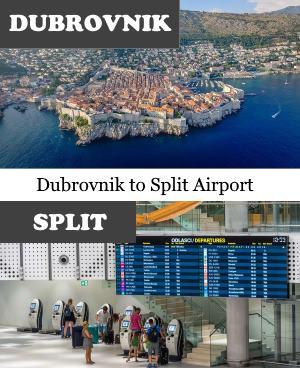 Dubrovnik to Split Airport
