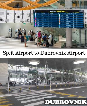 Split Airport to Dubrovnik Airport