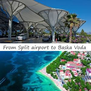 Transfer from Split airport to Baska Voda