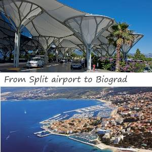 Transfer Split airport to Biograd
