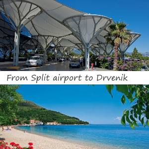 Transfer Split airport to Drvenik