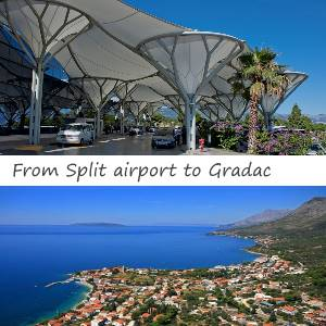 Transfer Split airport to Gradac