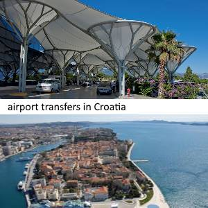 Transfer from Split airport to Zadar
