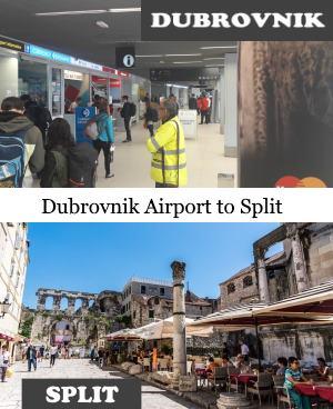Dubrovnik airport to Split