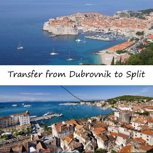 Transfer from Dubrovnik to Split