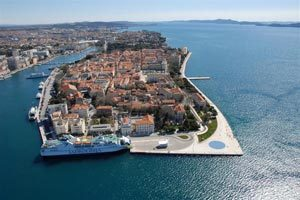 Split to Zadar