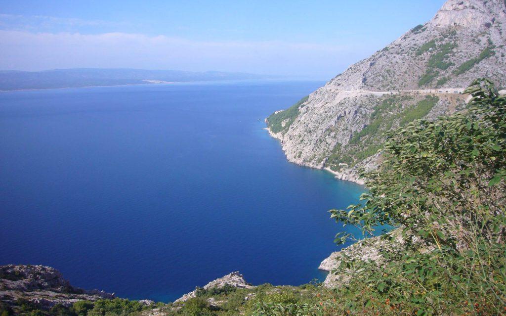 Split airport to Makarska