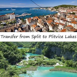 Split to Plitvice Lakes