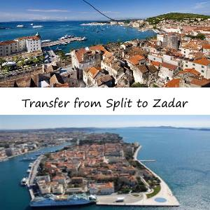 From Split to Zadar