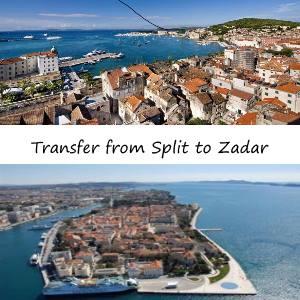 From Split to Zadar