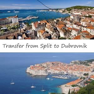 Taxi Split to Dubrovnik