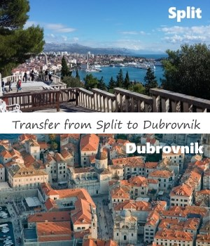 Transfer Split to Dubrovnik