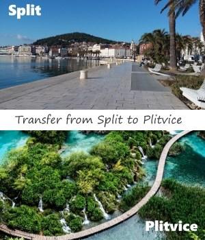 Split to Plitvice transfer