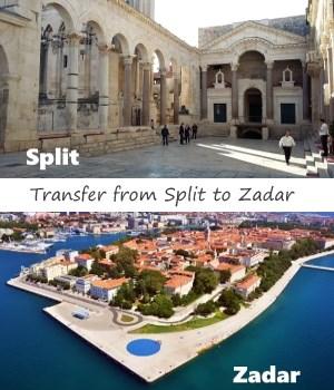 Transfer from Split to Zadar