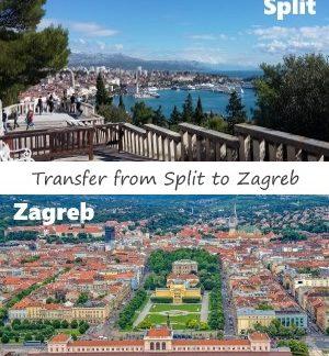 Transfer from Split to Zagreb
