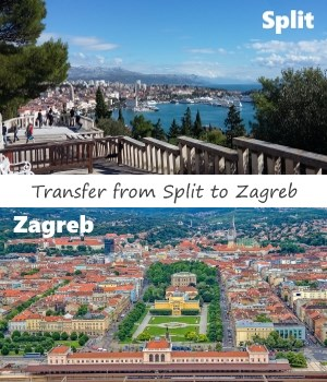 Transfer from Split to Zagreb