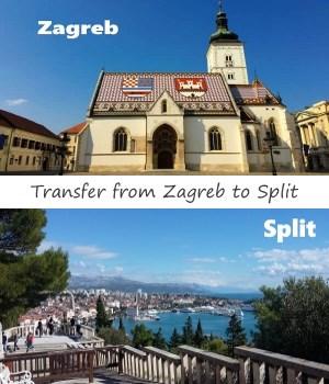 Transfer from Zagreb to Split