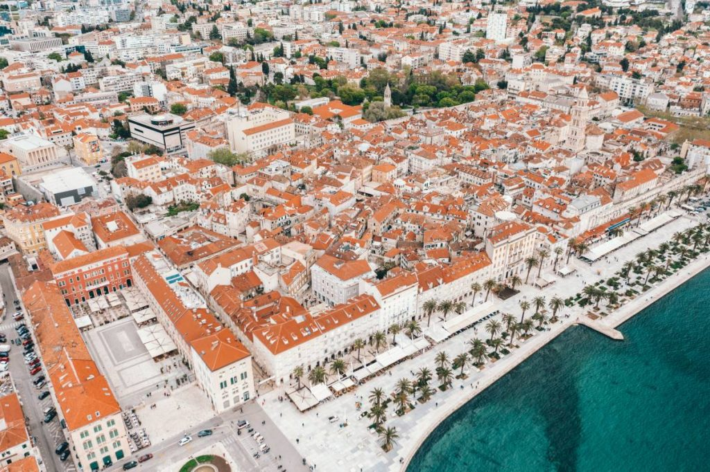 Split: Riva and Diocletian's Palace