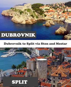 Dubrovnik to Split via Ston & Mostar